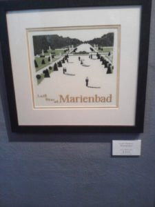 Last Year at Marienbad embroidery exhibit