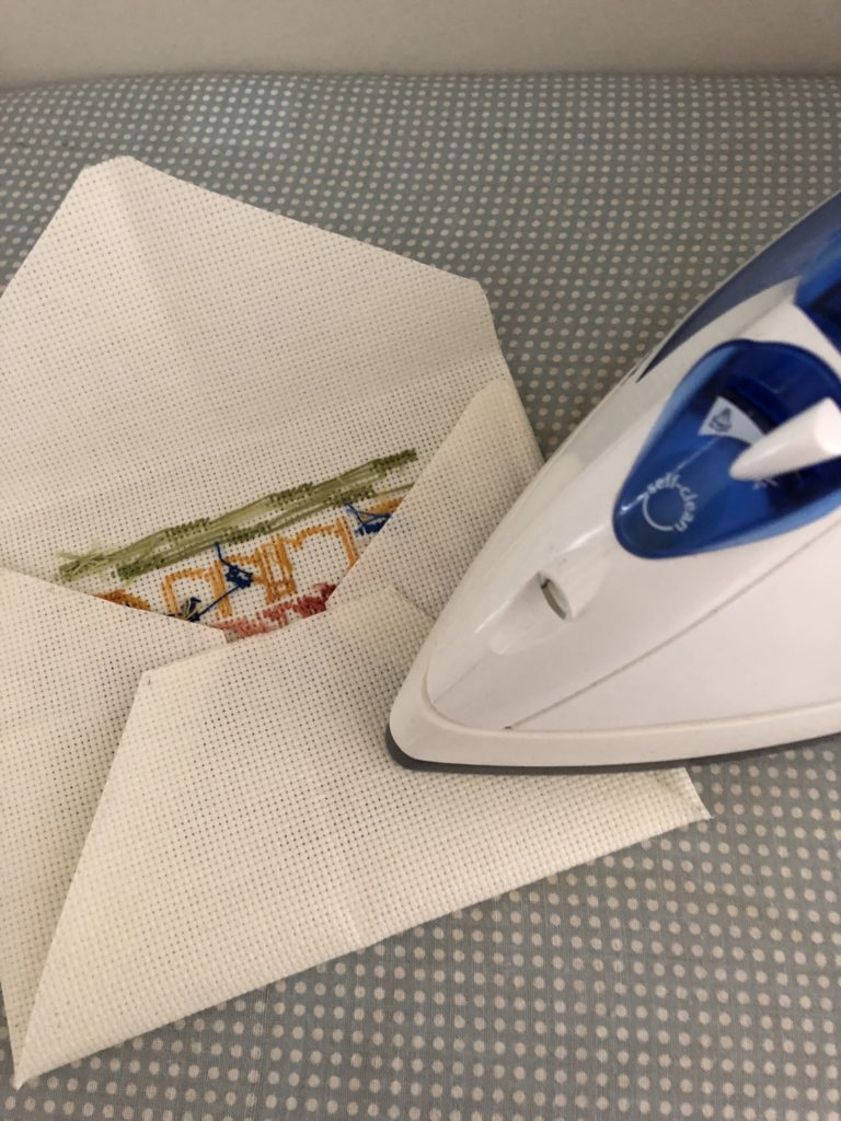 ironing fabric envelope